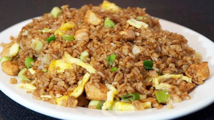 Arroz chaufa con pollo recetas de comida peruana for Ingredientes para comida