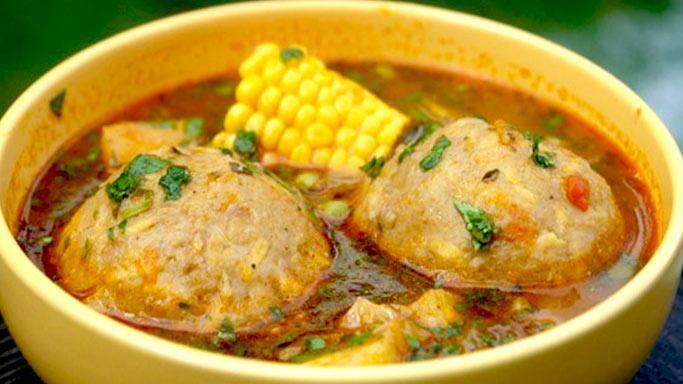 Caldo de bolas recetas de comida peruana receta peruana comida peruana comidas paruanas - Albondigas tradicionales ...